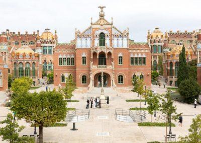 Hospital de la Santa Creu i Sant Pau Recinte modernista
