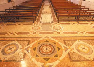 Mosaic de l'Església de Sant Pacià
